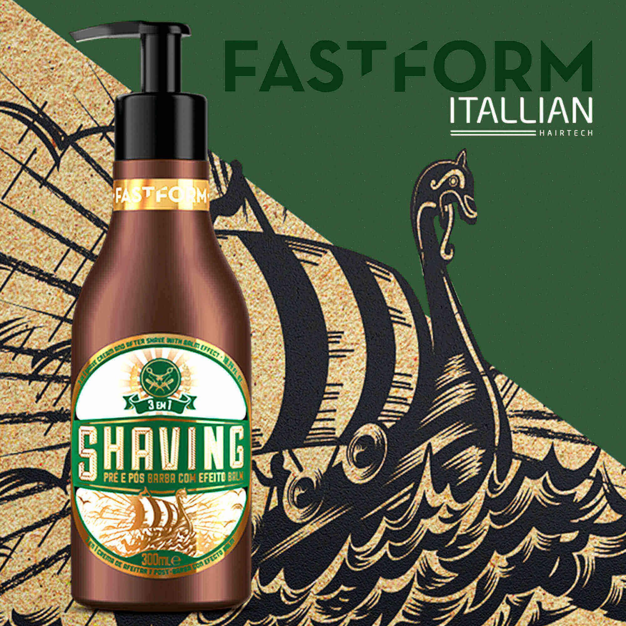 Itallian Shaving 3 Em 1 Fastform 300ml