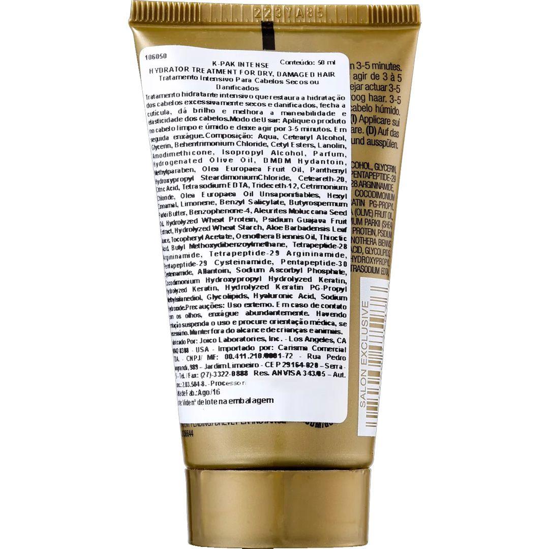 Joico K Pak Intense Hydrator Dry Damage Hair - Máscara Capilar 50 ml