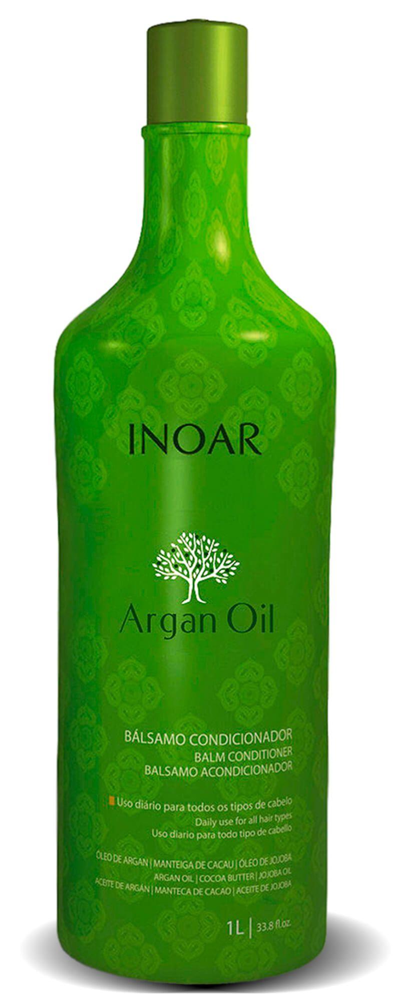 Kit Argan Oil System Shampoo + Condicionador 1l
