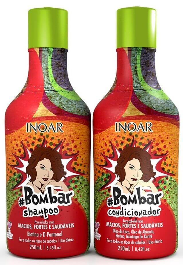 Kit bombar Inoar (shampoo E Condicionador) 250ml