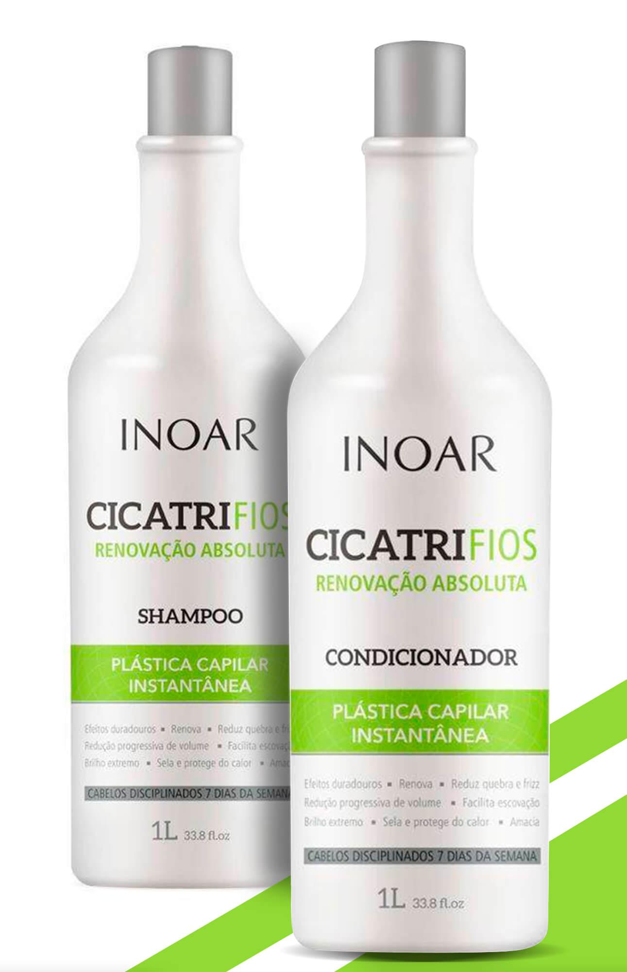 Kit Cicatrifios Shampoo + Condicionador 1l