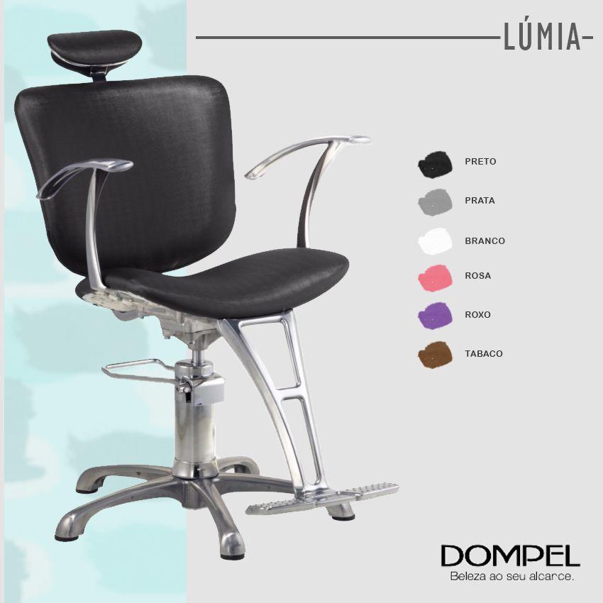 Kit Dompel Salão De Beleza Lavatório + 2 Cadeiras Reclinável