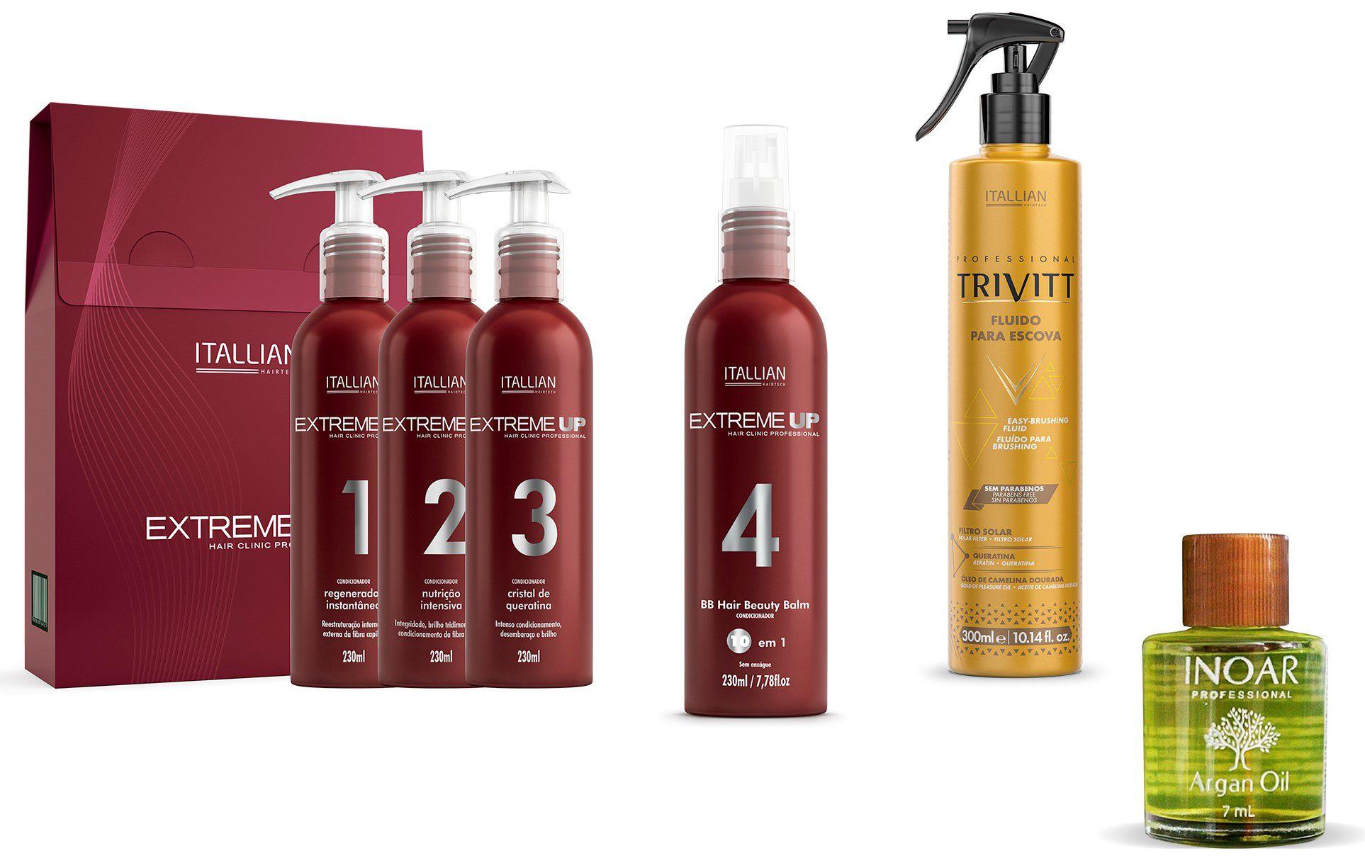 Kit Extreme Up Regenerador + Bb Hair Beauty Balm 10x1 Brinde
