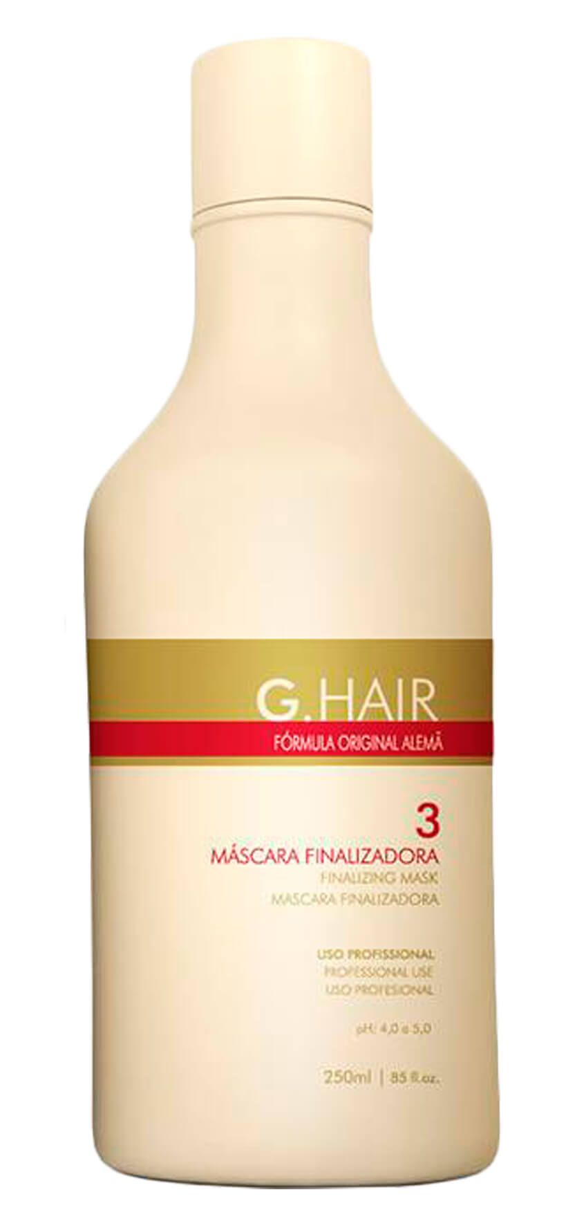 Kit G Hair Escova Progressiva Alemã 3x250ml