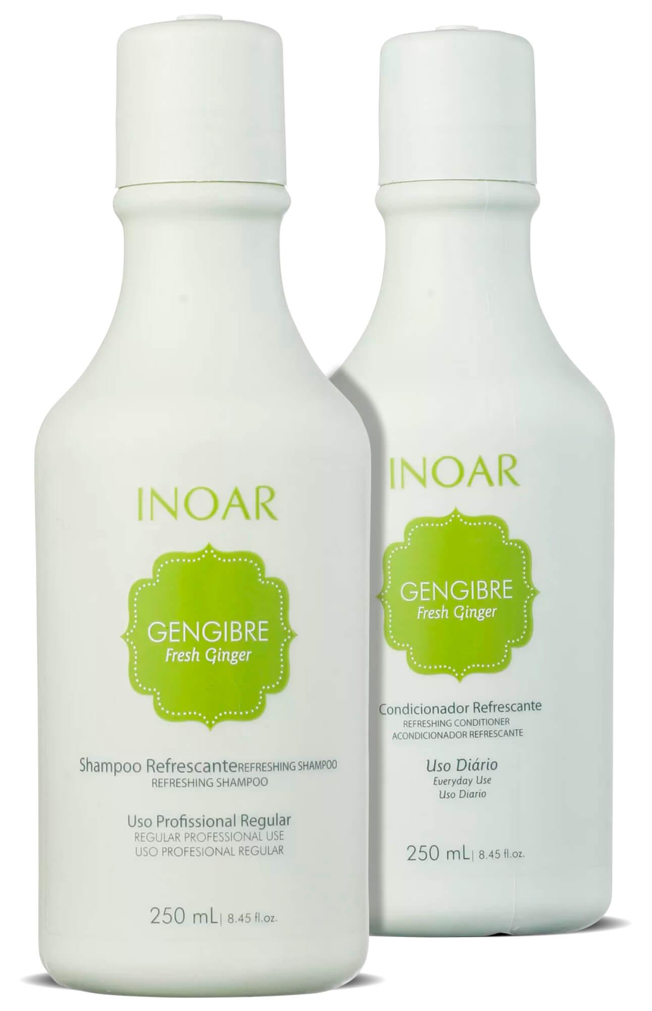 Kit Gengibre Fresh Ginger Shampoo + Condicionador 250ml