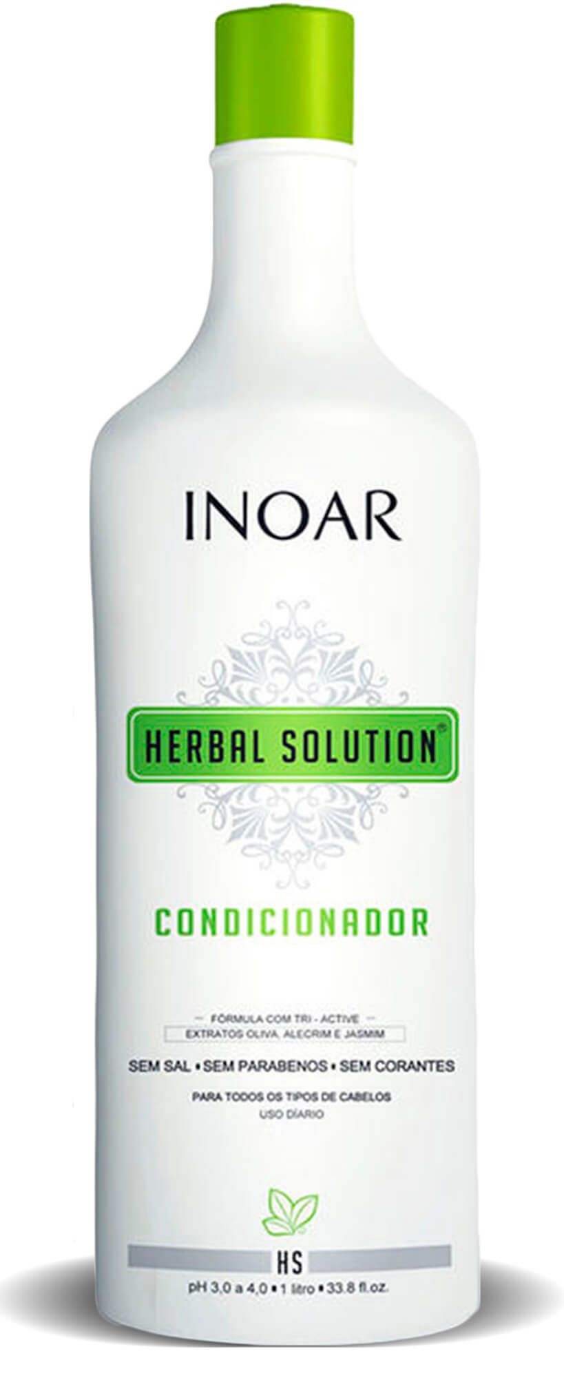 Kit Herbal Solution Profissional Shampoo + Condicionador 1l