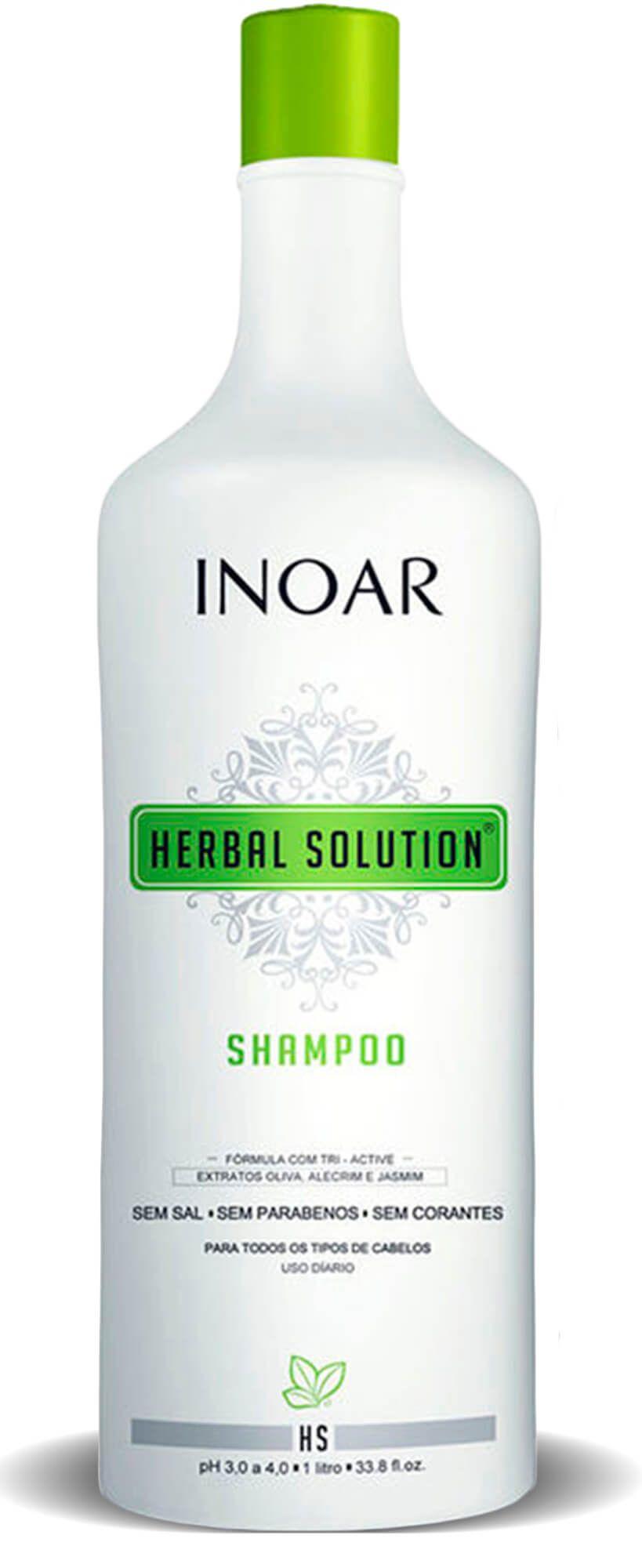 Kit Herbal Solution Profissional Shampoo + Condicionador 1l