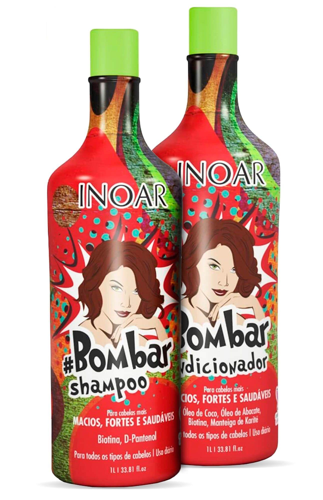 Kit Inoar bombar (shampoo E Condicionador) 1000ml