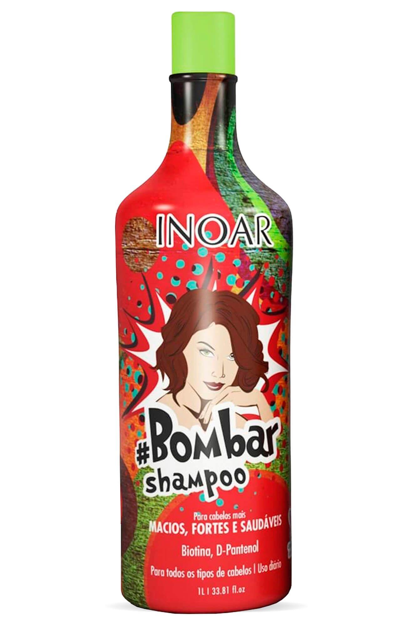 de39afcb0 Kit Inoar #bombar (shampoo E Condicionador) 1000ml - www ...