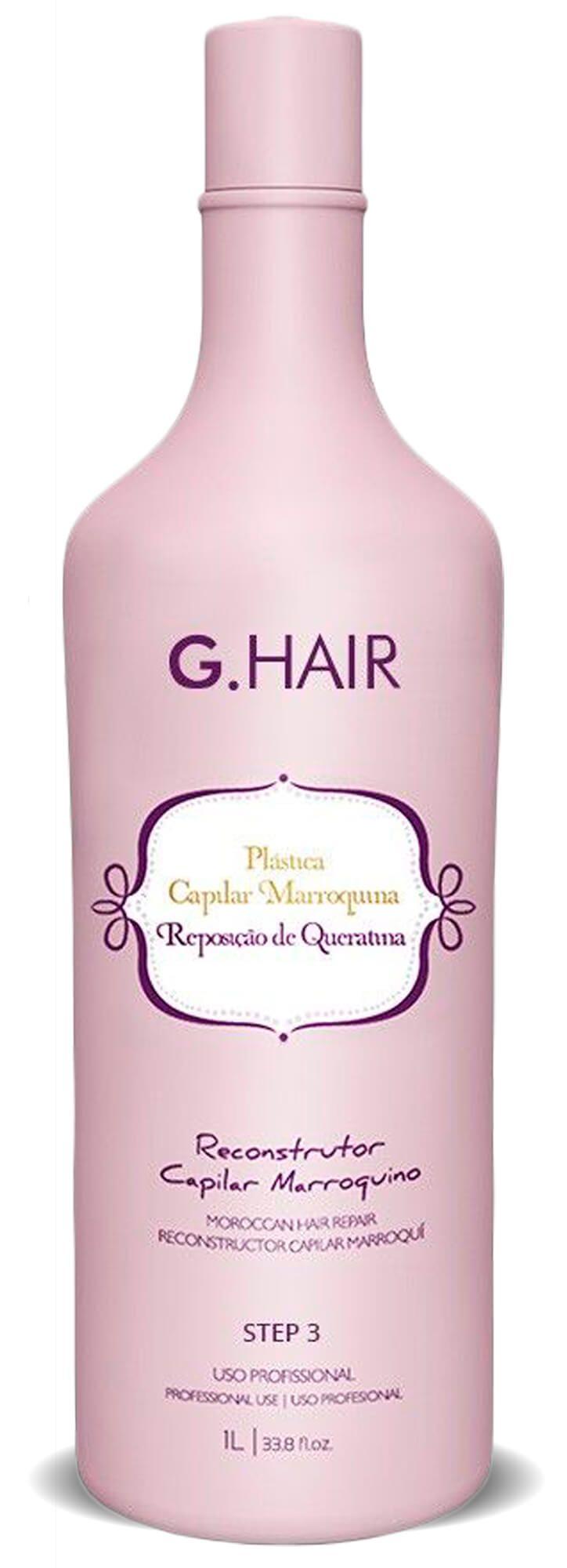 Kit Plástica Capilar Marroquina (g Hair) 3x1000ml