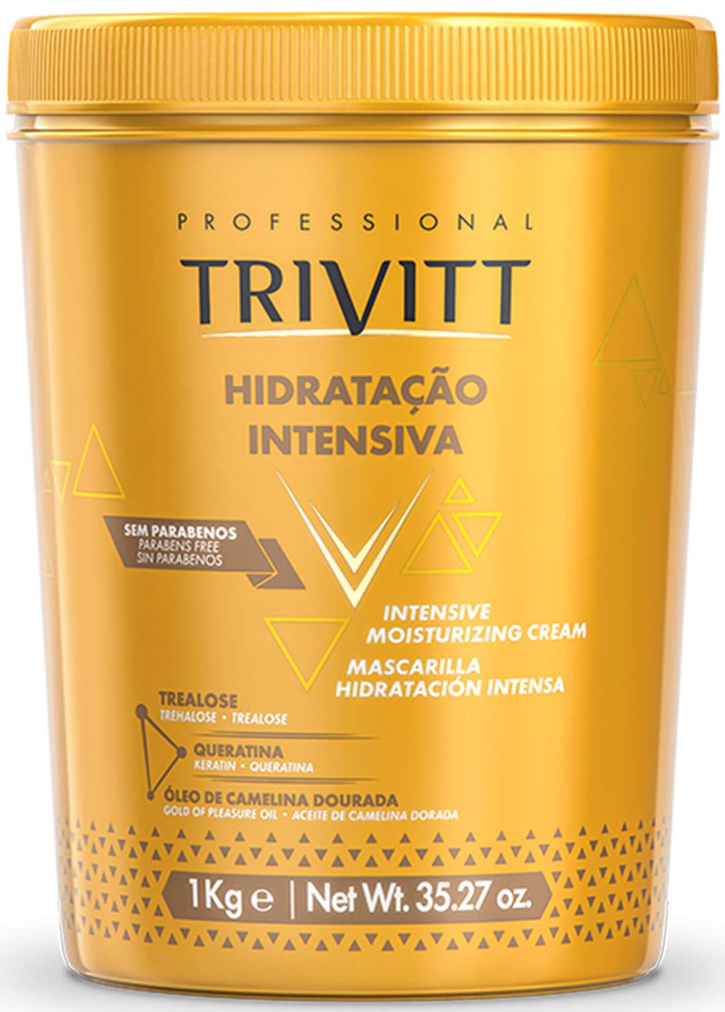 Kit Trivitt Profissional Itallian 2018 Hidratação