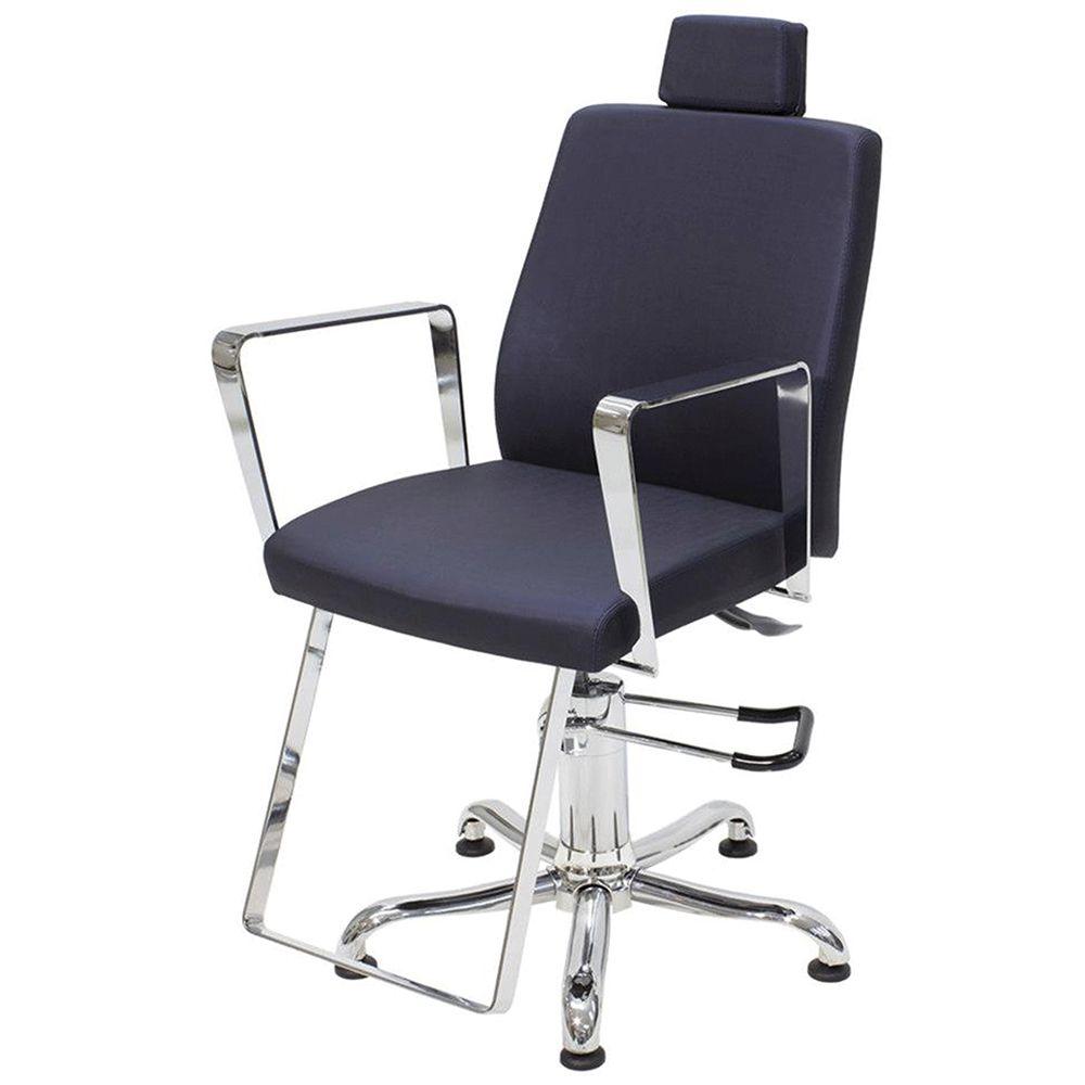Kixiki - Cadeira Croma Com Cabeçote e Encosto Fixo