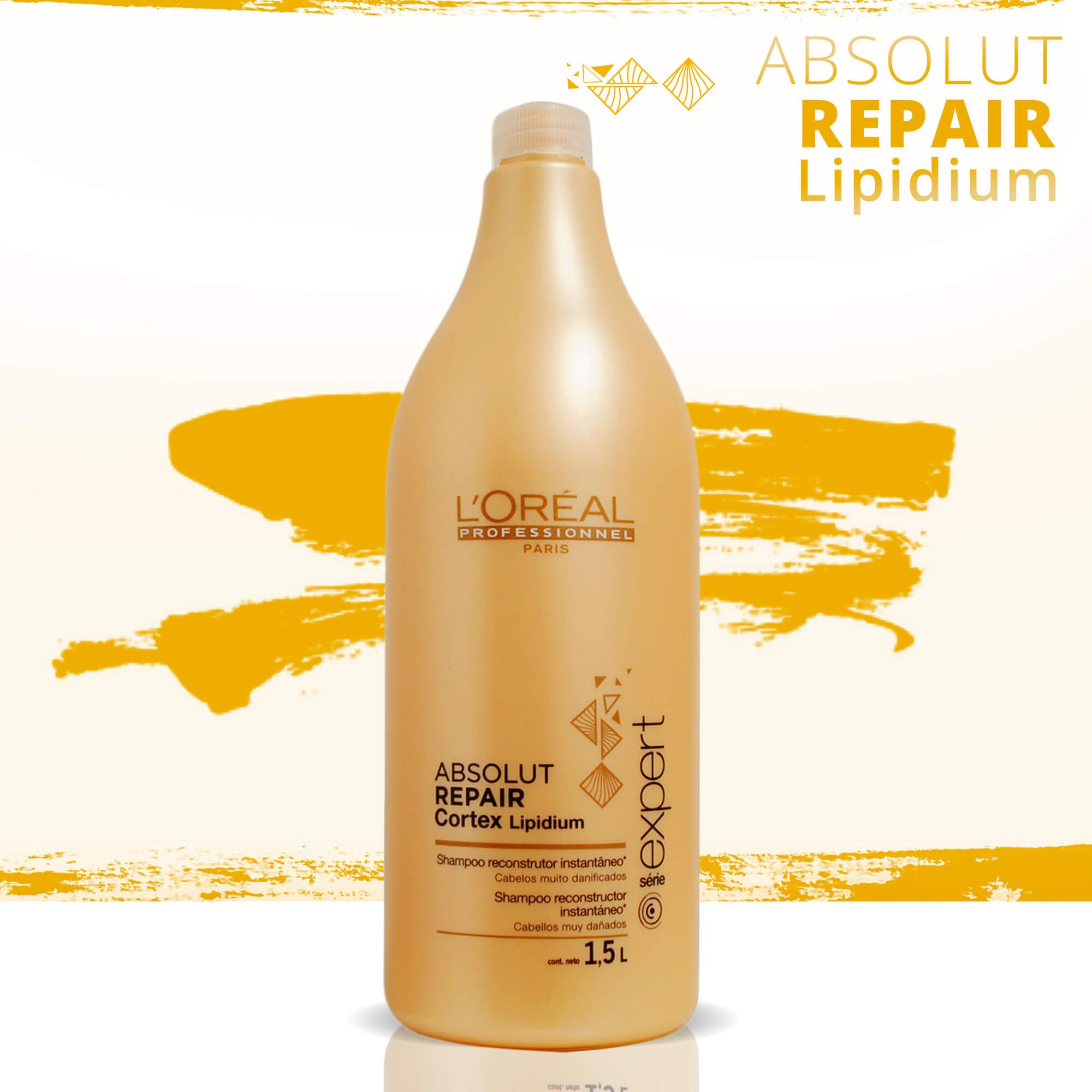 L'oréal Absolut Repair Córtex Lipidium - Shampoo 1,5l