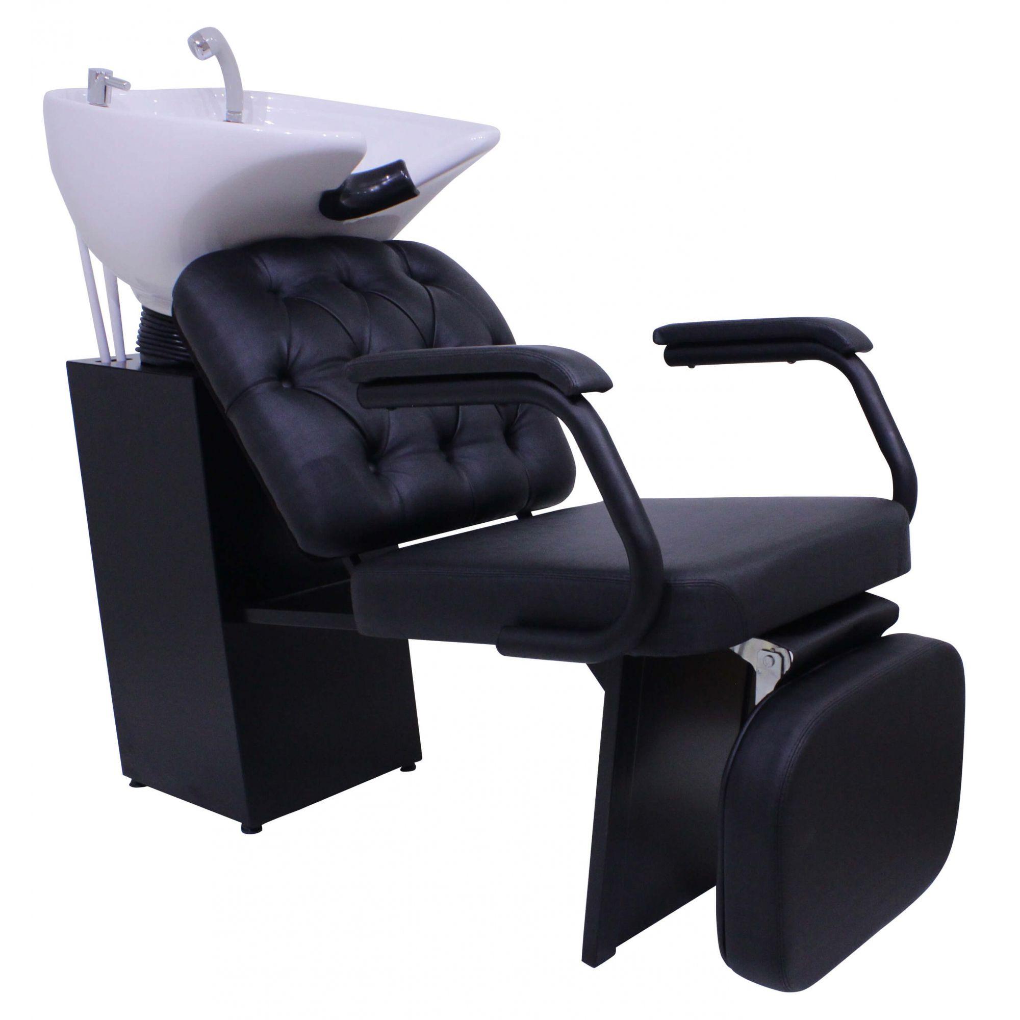Lavatório Barber Boss Kixiki Com Descanso