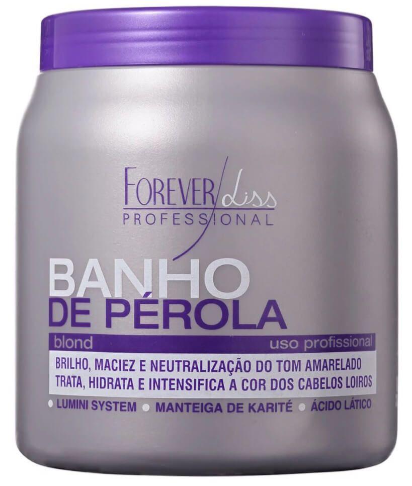 Máscara Banho De Pérola Forever Liss 1kg