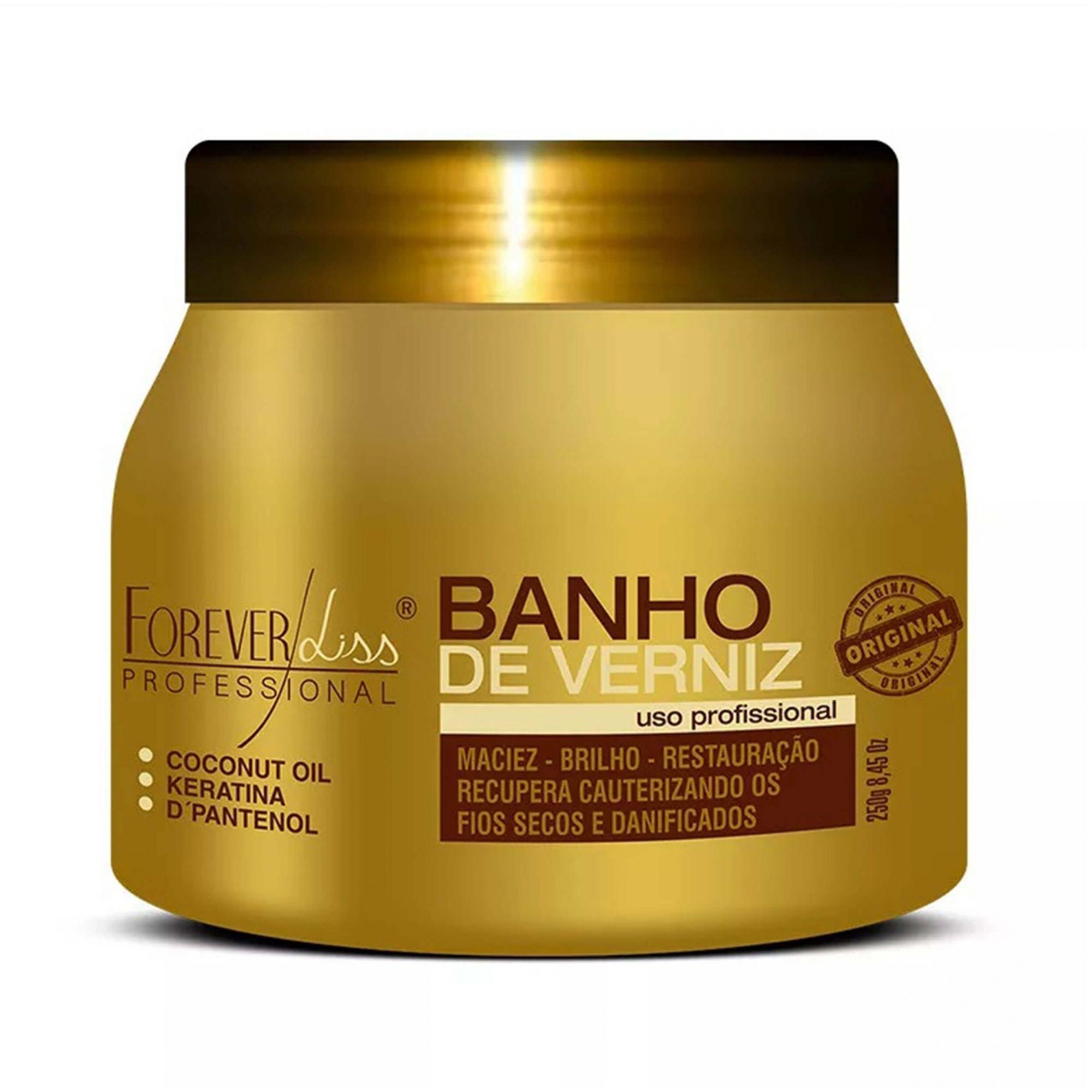 Máscara Banho De Verniz 250g Forever Liss