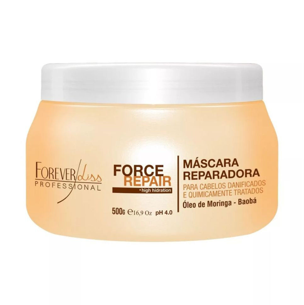 Máscara Force Repair Forever Liss - 500g