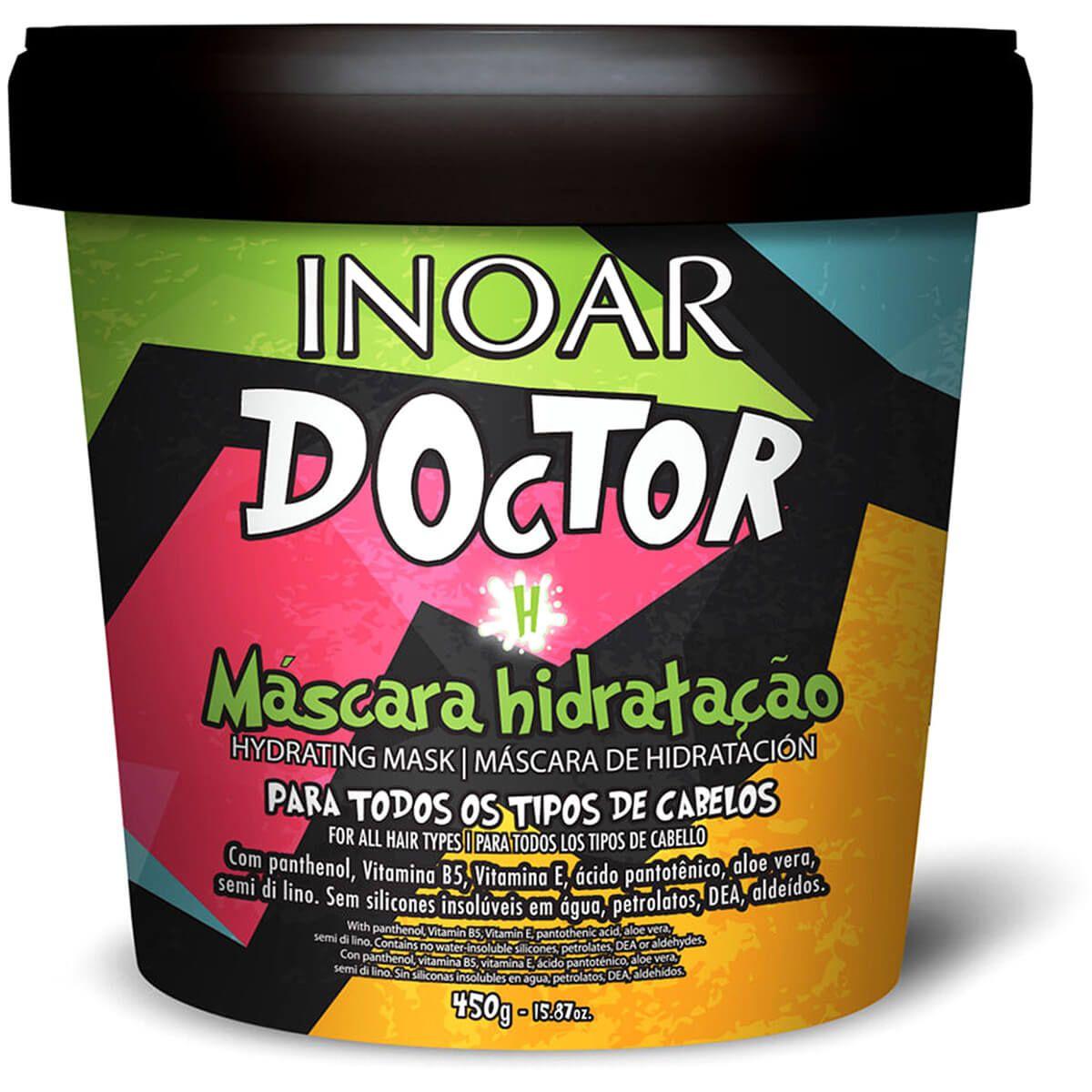 Máscara Inoar Doctor De Hidratação 450g