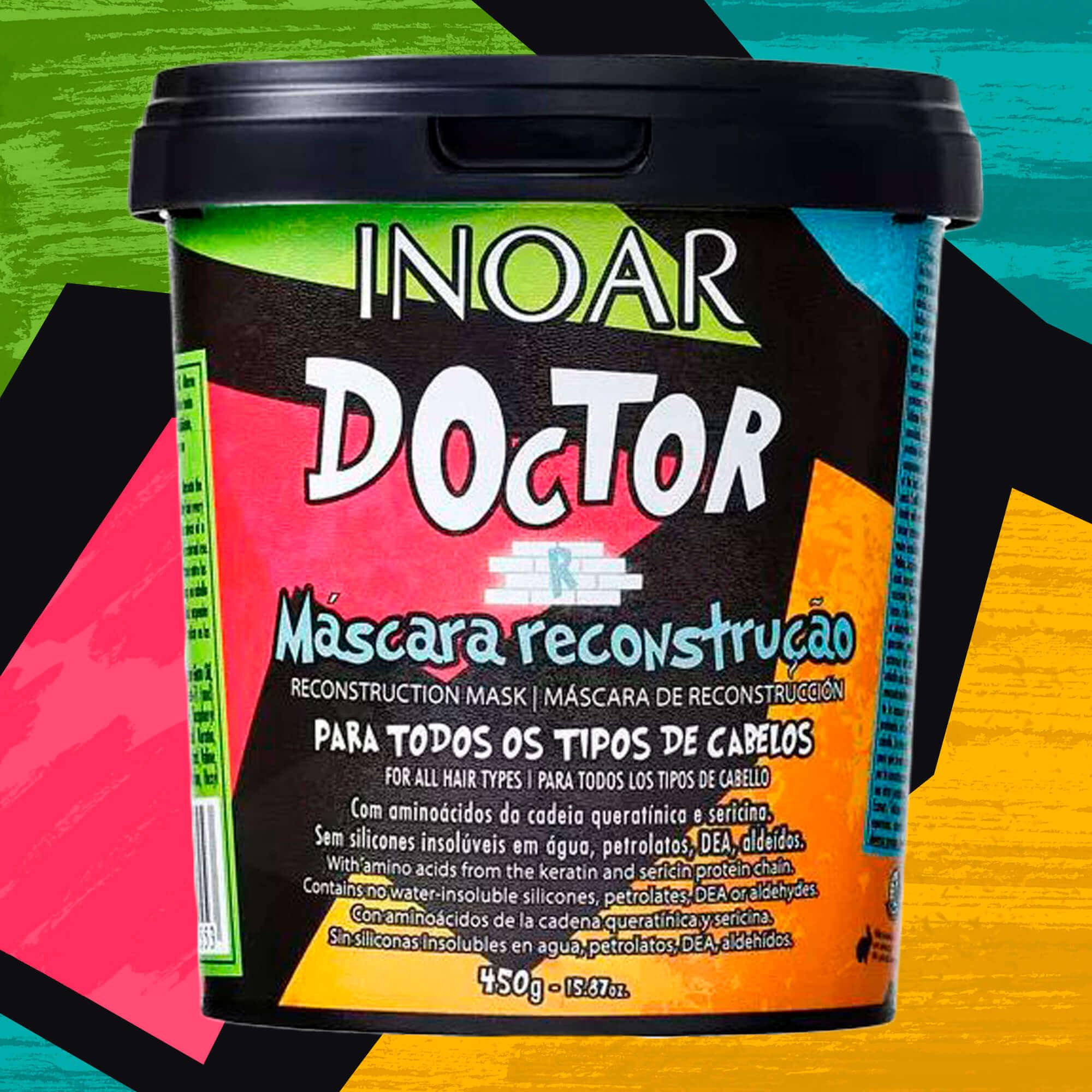Máscara Inoar Doctor De Reconstrução 450g