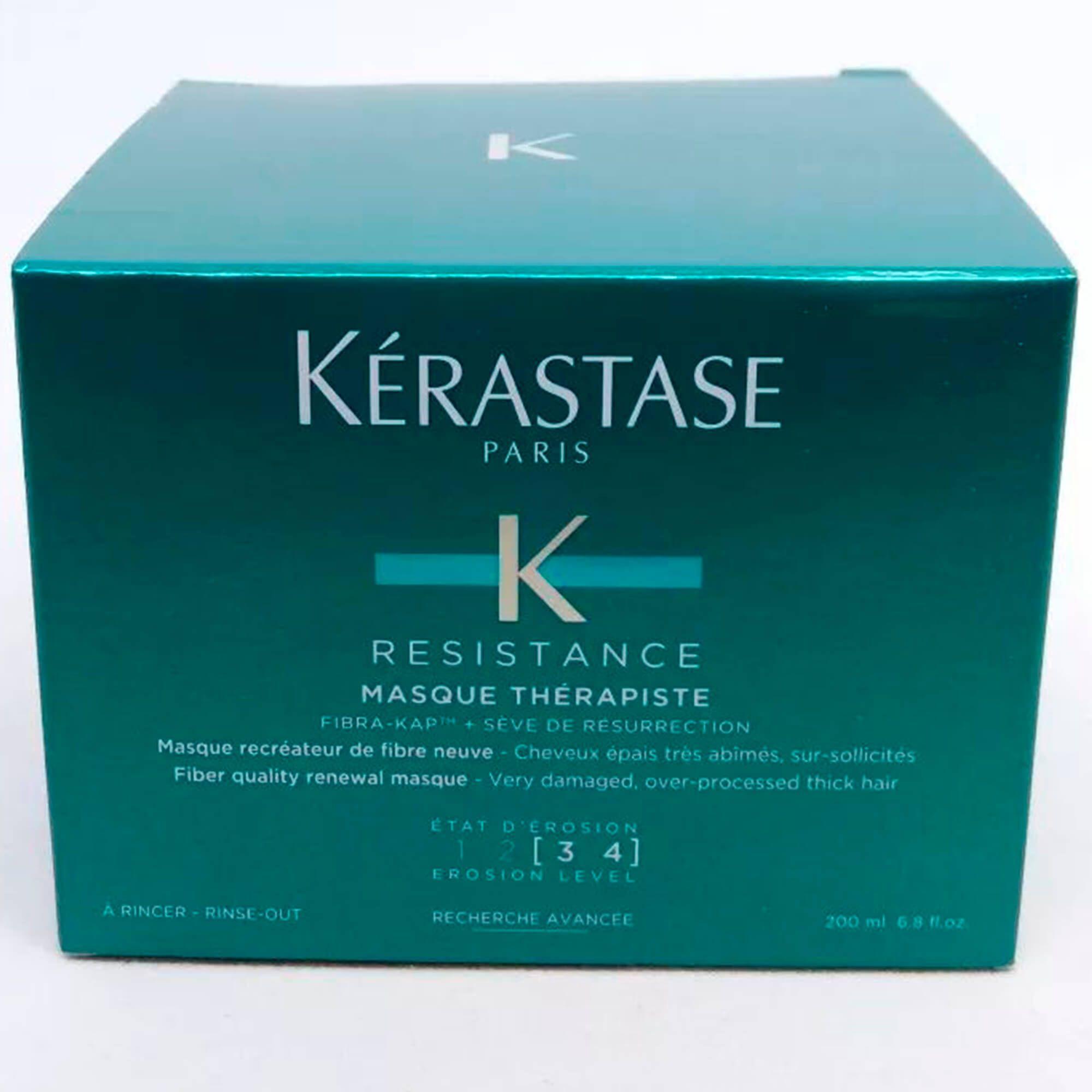 Máscara Reconstrutura Kérastase Resistance Thérapiste 200 Ml