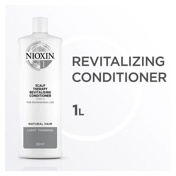 Nioxin Scalp Therapy Sistema 1 Tramanho Profissional - Condicionador Revitalizante 1000 ml