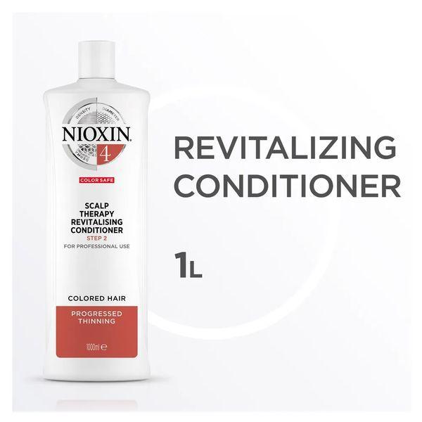 Nioxin Scalp Therapy Sistema 4 Tramanho Profissional - Condicionador Revitalizante 1000 ml