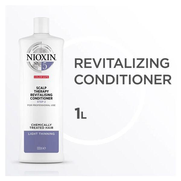 Nioxin Scalp Therapy Sistema 5 Tramanho Profissional - Condicionador Revitalizante 1000 ml