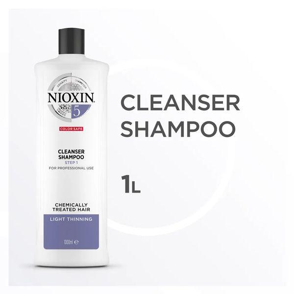 Nioxin Scalp Therapy Sistema 5 Tramanho Profissional - Shampoo de Limpeza 1000 ml