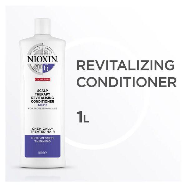 Nioxin Scalp Therapy Sistema 6 Tramanho Profissional - Condicionador Revitalizante 1000 ml