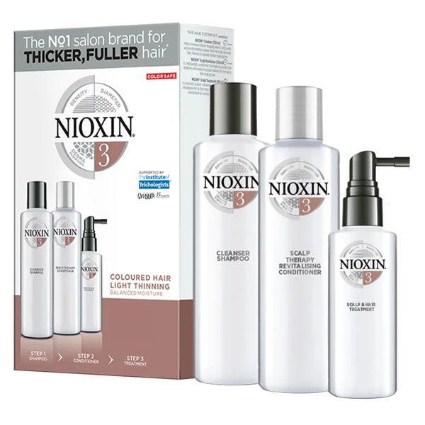 Nioxin Trial Kit Sistema 3 - Shampoo + Condicionador + Leave-in