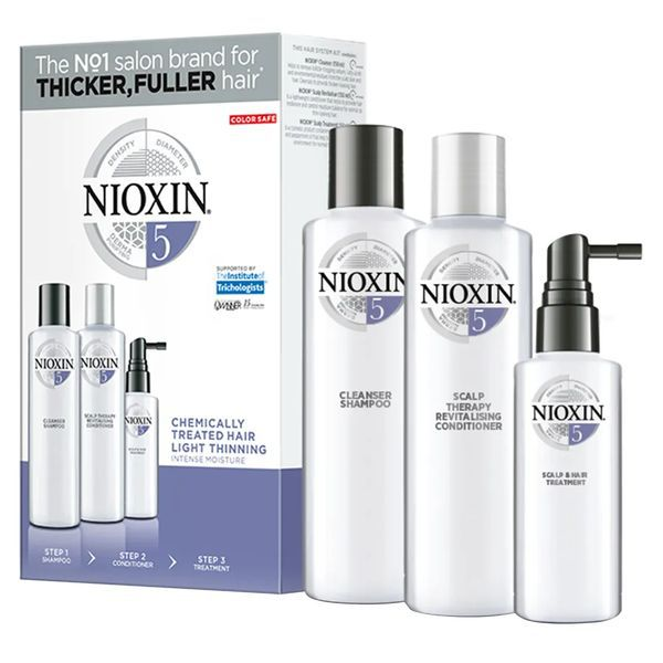 Nioxin Trial Kit Sistema 5 - Shampoo + Condicionador + Leave-in