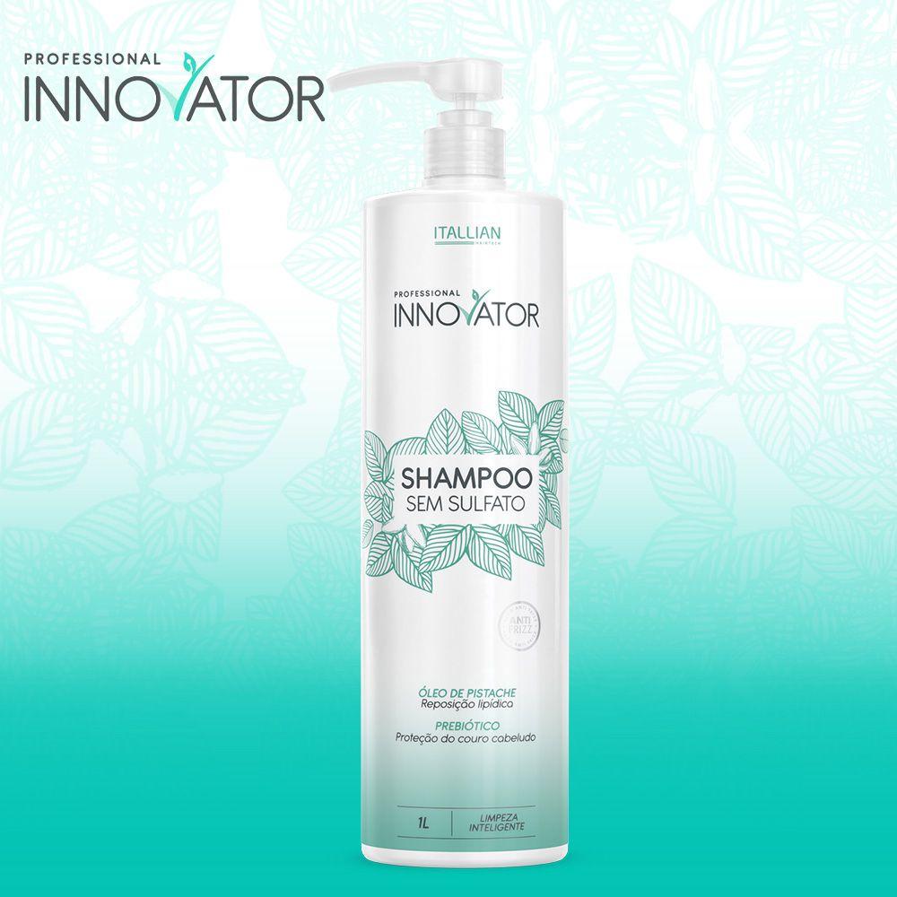 Novo Shampoo Sem Sulfato Innovator Itallian 1l