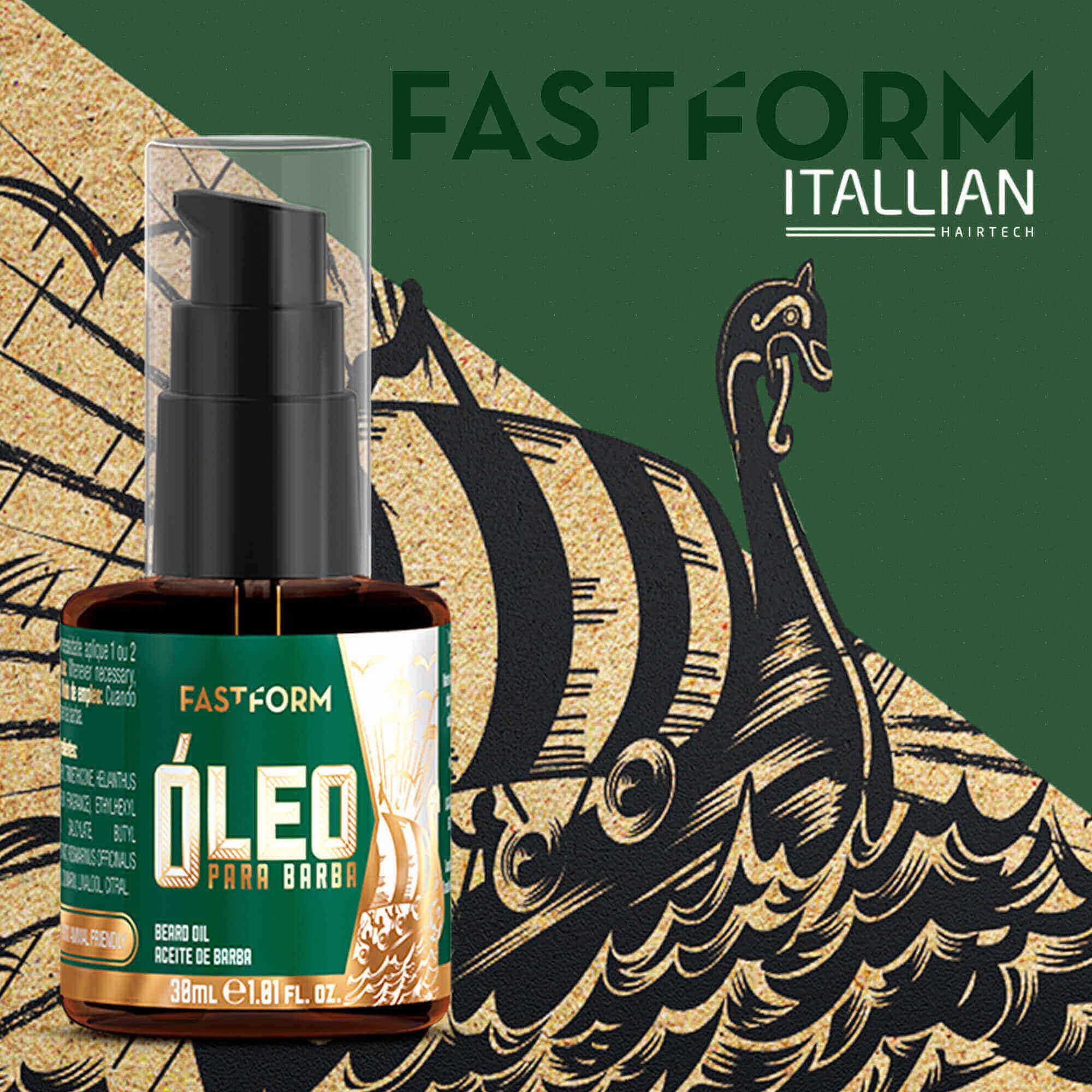 Óleo Para Barba Itallian Fastform 30ml