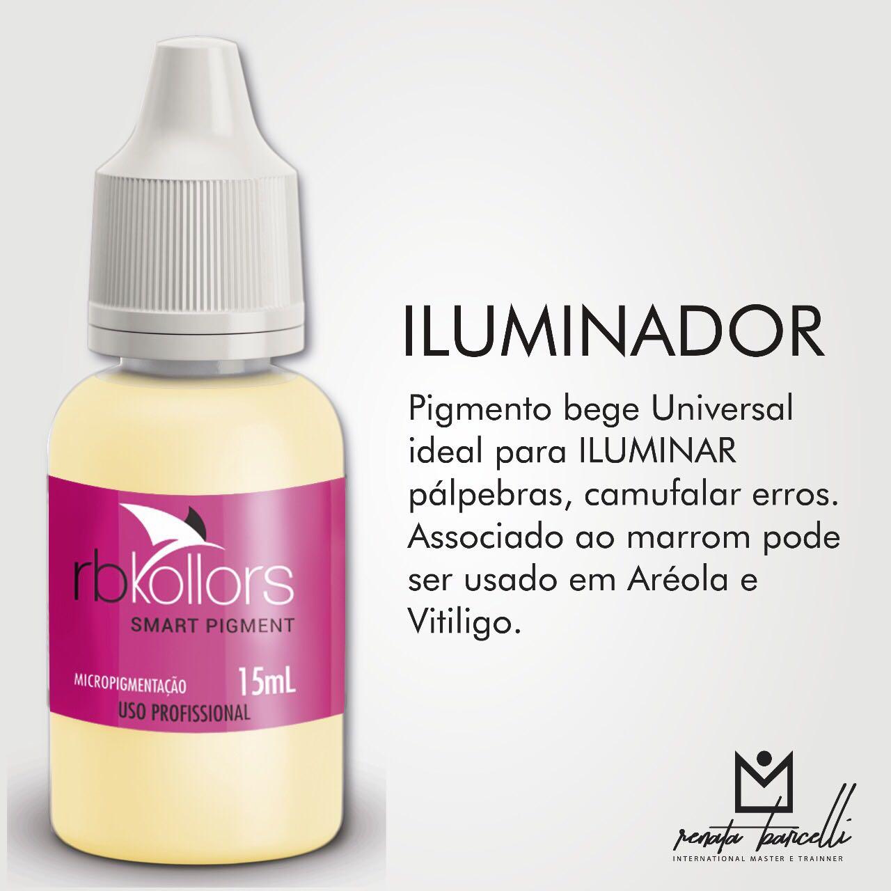 PIGMENTO RB KOLLORS ORGÂNICO ILUMINADOR 15 ML