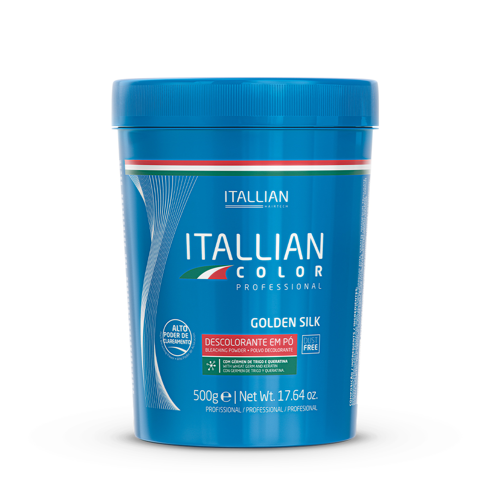 PÓ DESCOLORANTE ITALLIAN GOLDEN SILK DUST FREE 500G