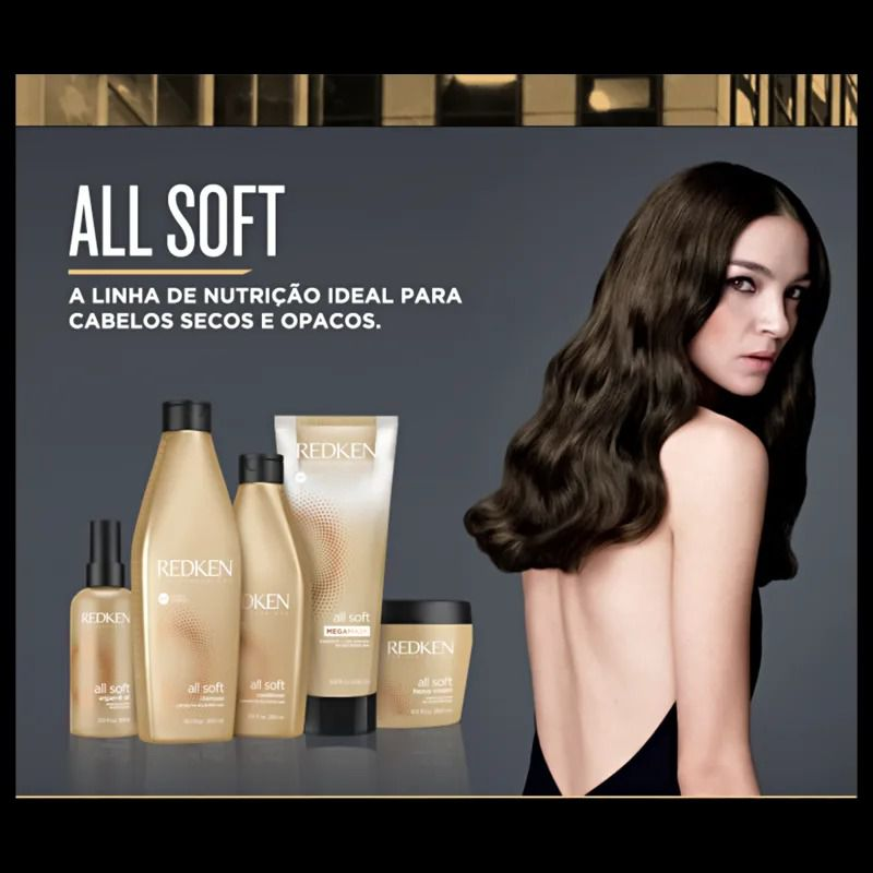 Redken All Soft - Condicionador 1000 ml
