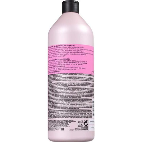 Redken Oil Glow Dry - Shampoo 1000 ml