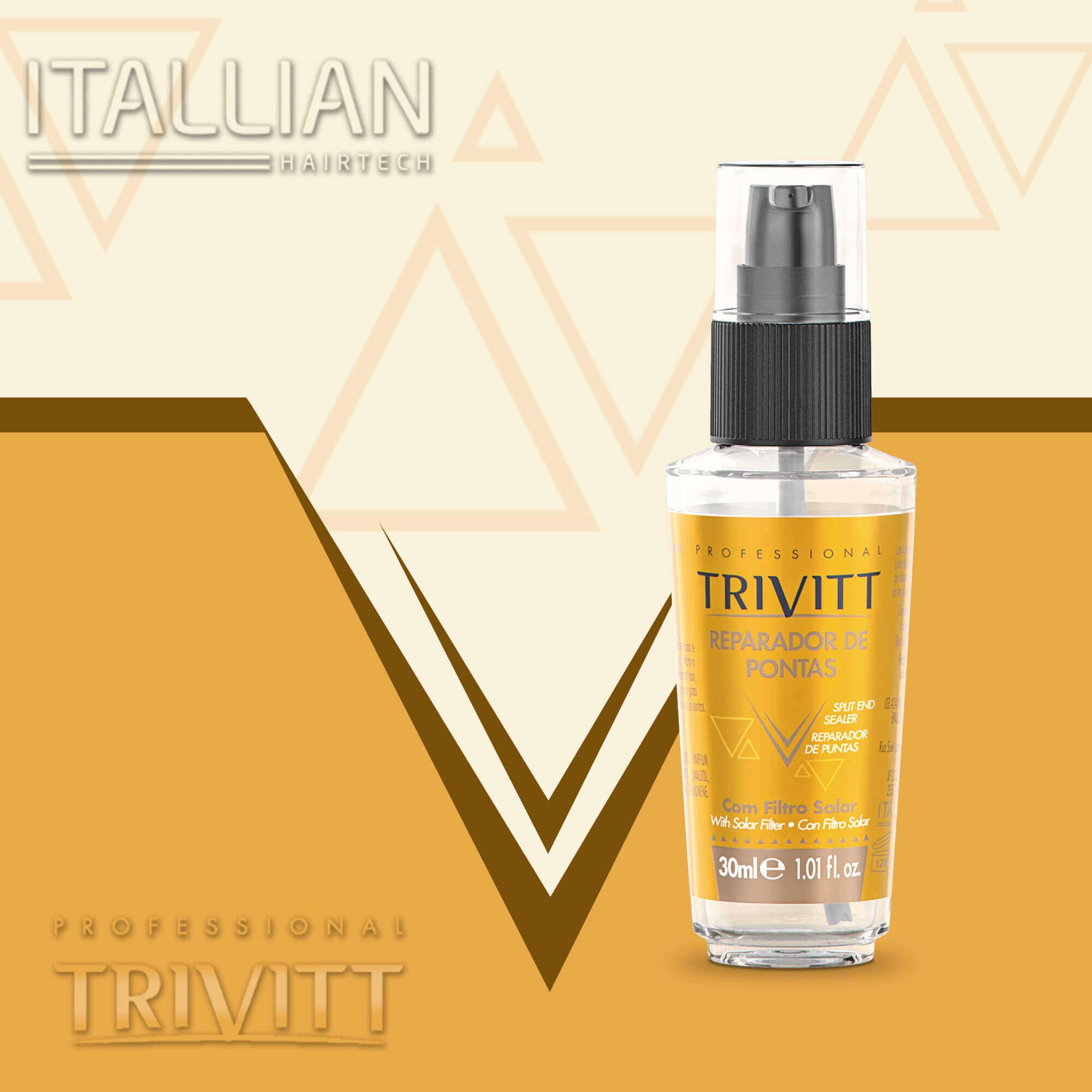 Reparador Itallian Trivitt De Pontas - 30ml