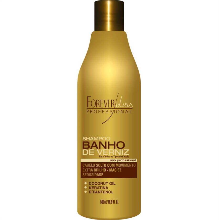Shampoo Banho De Verniz 500ml Forever Liss