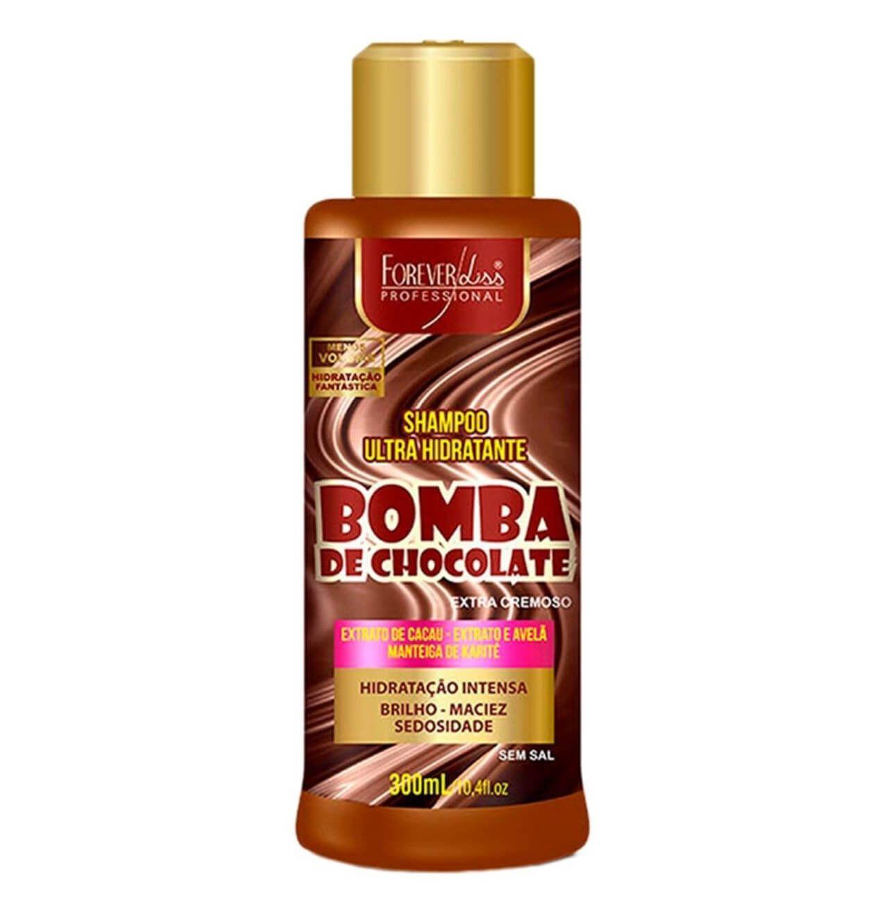 Shampoo Foreverliss Bomba De Chocolate 300ml Forever Liss