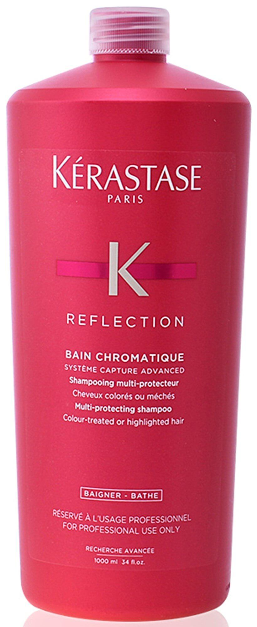 Shampoo Kérastase Réflection Bain Chromatique Riche - 1Litro