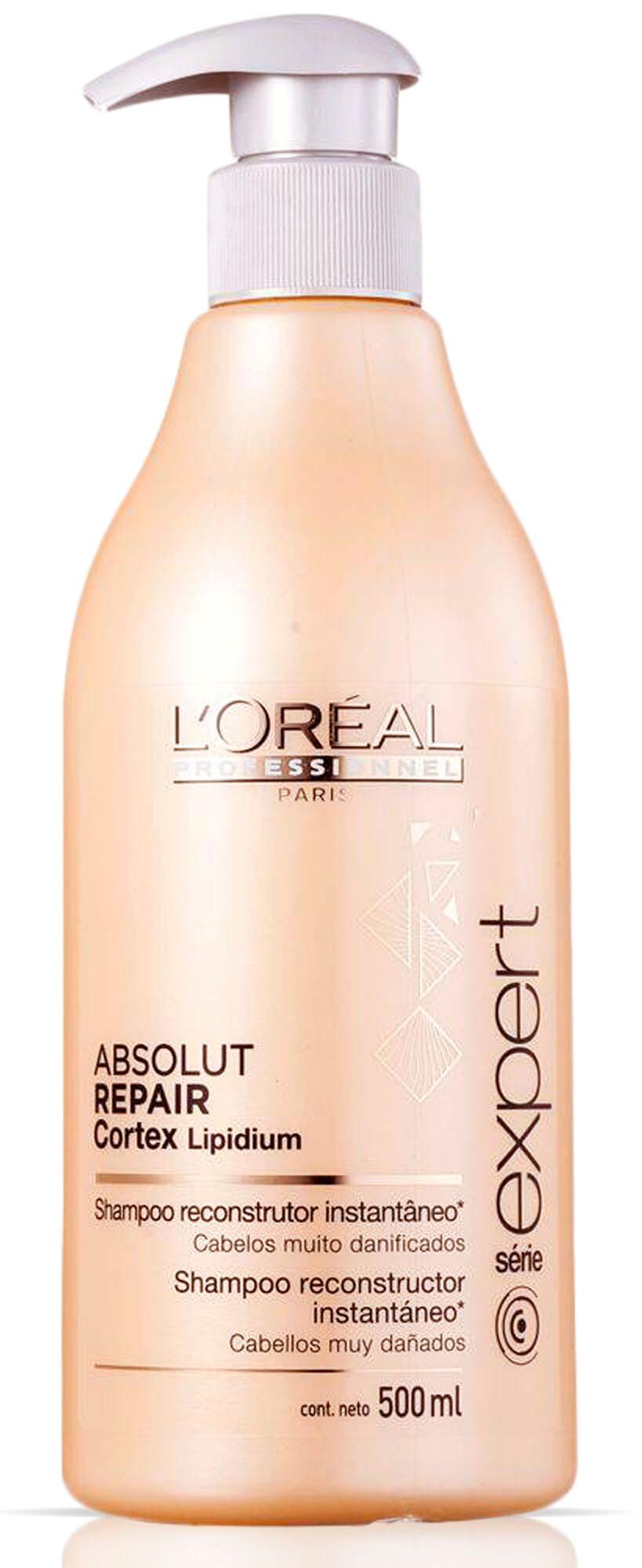 Shampoo L'oréal Absolut Repair Cortex Lipidium - 500ml