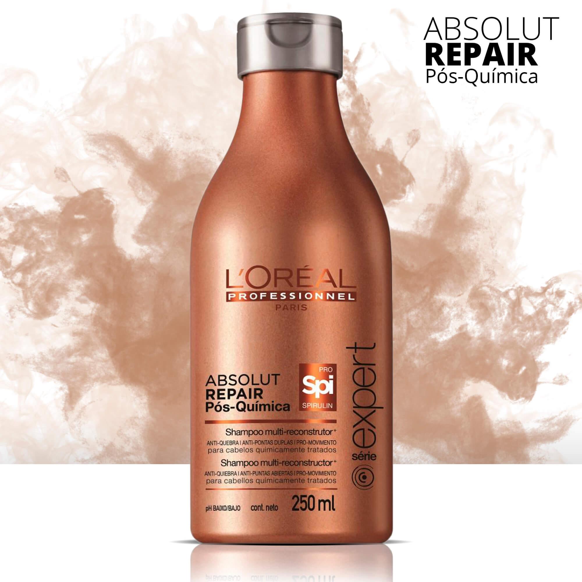 Shampoo L'Oréal Repair Pós-química - 250ml