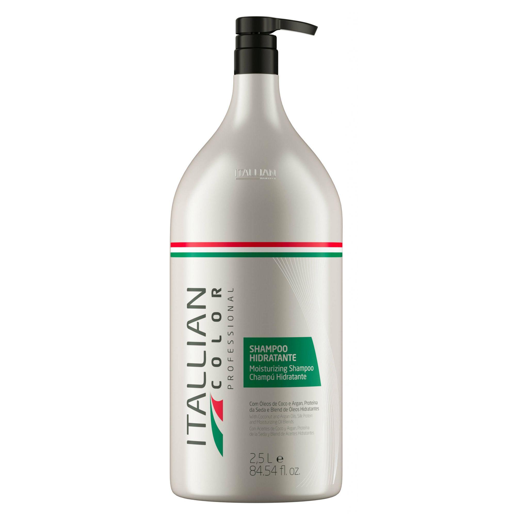 Shampoo Lavatório Hidratante Itallian Color 2,5 Litros