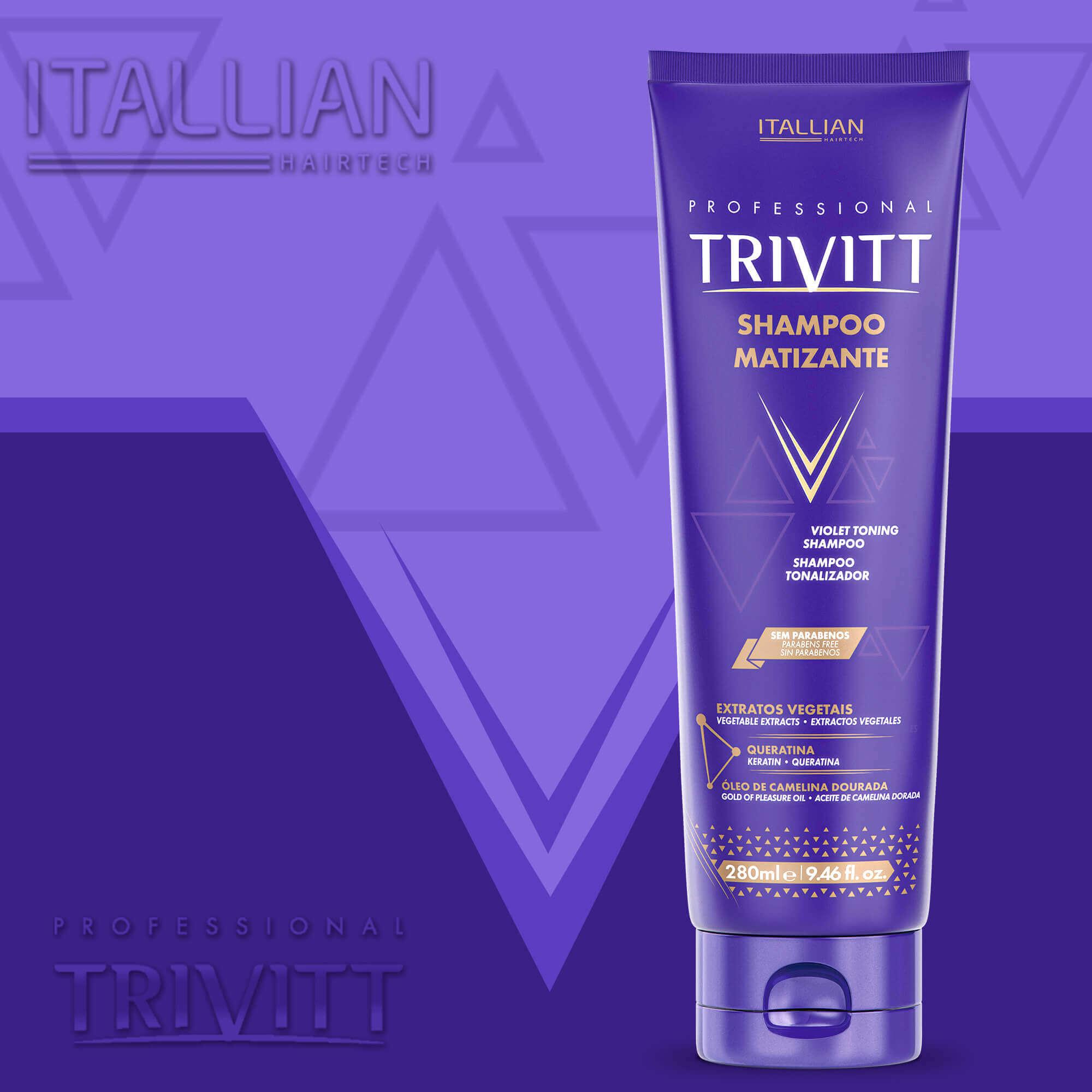 Shampoo Matizante Itallian Trivitt - 280ml