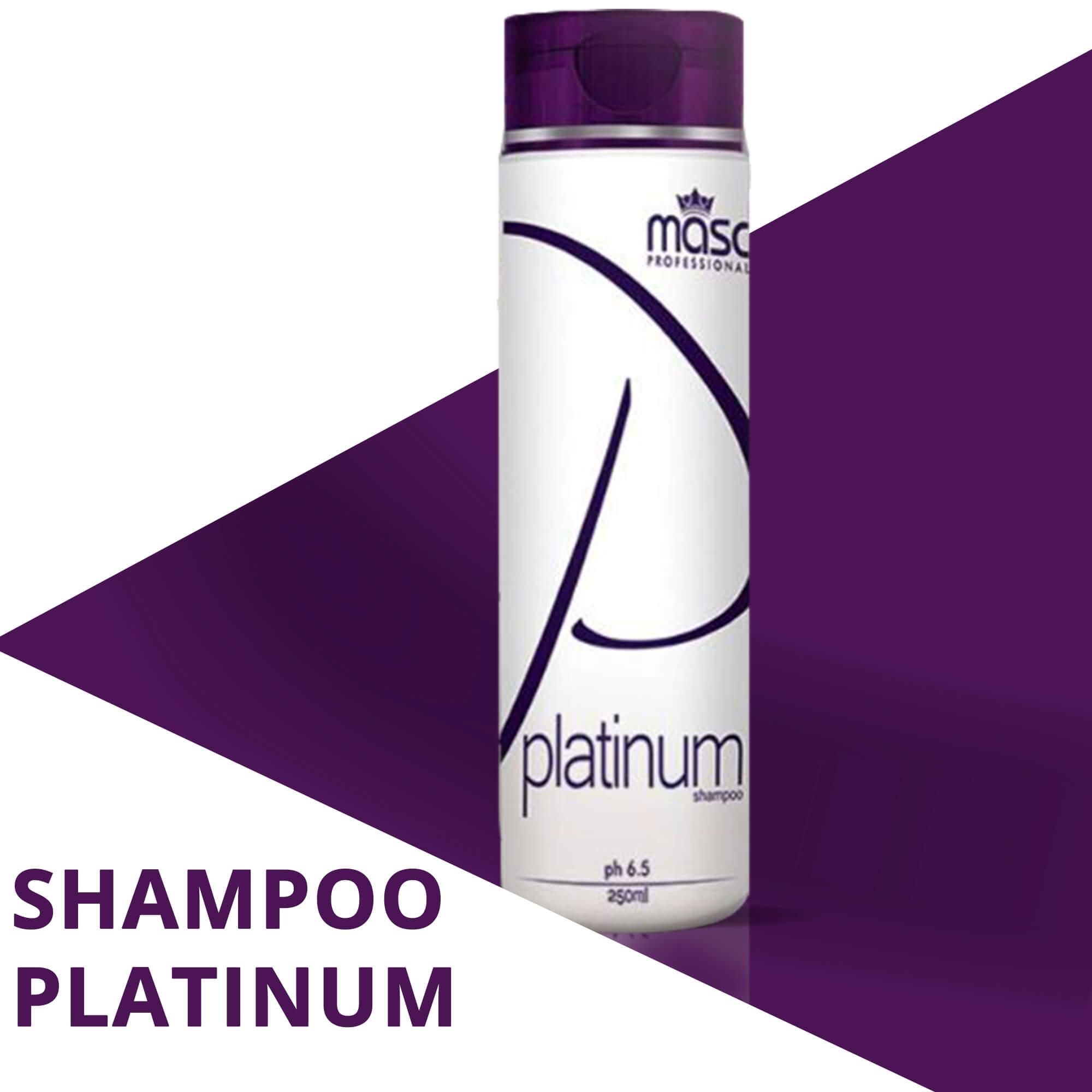 Shampoo Platinum Masc Professional 250g