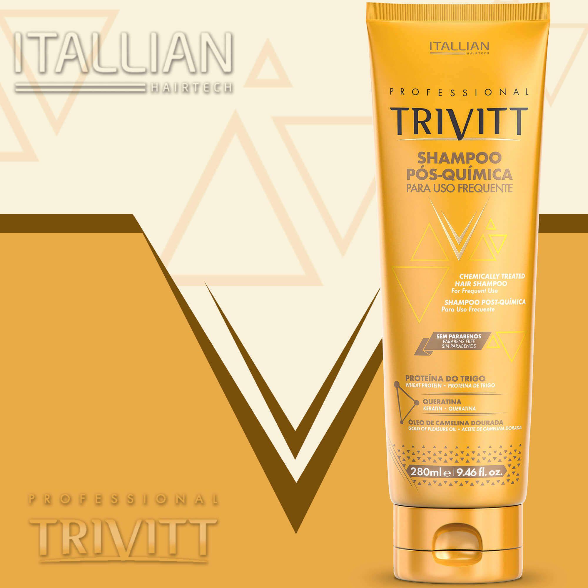 Shampoo Pós-química Itallian Para Uso Frequente 280ml