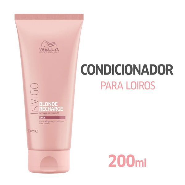 Wella Cool Blond Recharge Invigo - Condicionador - 200ml