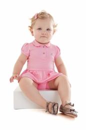 Body Vestido - Amarelo - Up Baby