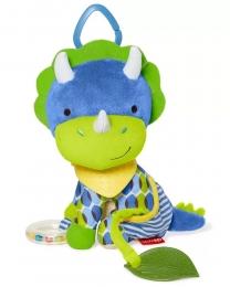Brinquedo Mordedor - Skip Hop Zoo - Bandana Buddies Dinossauro